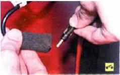 5. Разъедините антенный кабель.