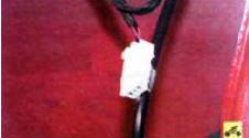 На антенном кабеле закреплена колодка жгута проводов для подключения антенны